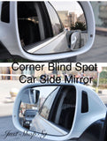Frameless Corner Blind Spot Mirror - Just Shop.Sg