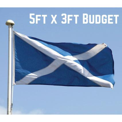 Budget St. Andrews Flag 5ft x 3ft