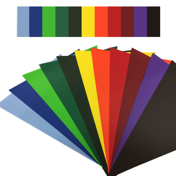 Custom Colour PVC Bunting 10m Lengths