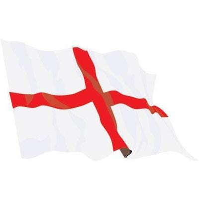 St George 1.52m x 0.91m (5ftx 3ft) Budget Display Flag