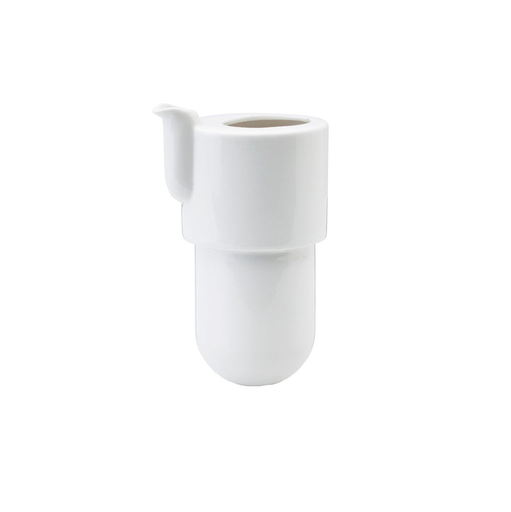Spare – Ceramic body for 60 cl WARM small teapot (in production from 2012 onwards) - White
