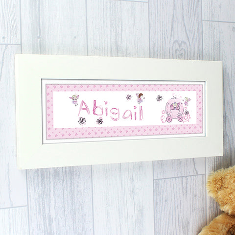 Buy Personalised Pumpkin Fairy Name Frame