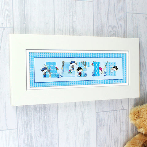 Buy Personalised Pirate Letter Name Frame