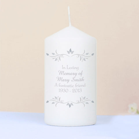 Buy Personalised Sentiments Candle