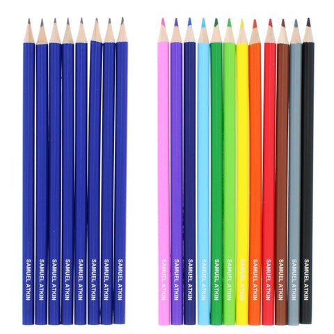Buy Personalised Pack of 20 HB Pencils & Colouring Pencils