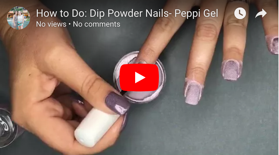 How To Do: Dip Powder Nails At Home- Peppi Gel