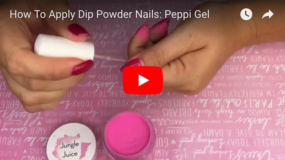 How To Apply Dip Powder Nails: Peppi Gel