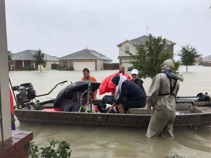 Fishing Heroes Aiding Hurricane Relief Efforts