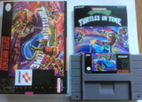 Teenage Mutant Ninja Turtles IV: Turtles in Time - (Super Nintendo, SNES) Reproduction Cartridge with Universal Game Case and Glossy Manual - CrebbaTECH