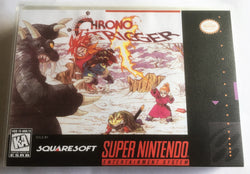 Chrono Trigger (Super Nintendo, SNES) - Reproduction Video Game Cartridge with Universal Game Case - CrebbaTECH