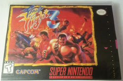 Final Fight 3 (Super Nintendo, SNES) Reproduction Cartridge with Universal Game Case and Glossy Manual - CrebbaTECH