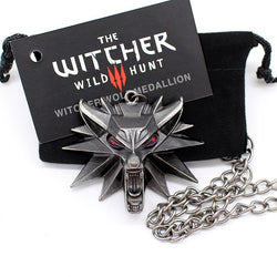 The Witcher 3 Wild Hunt Gamer Pendant Necklace - CrebbaTECH