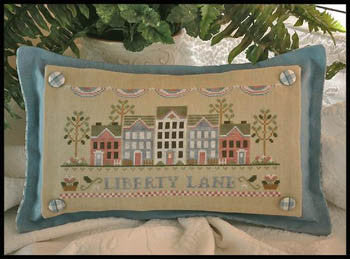 Liberty Lane - Country Cottage Needleworks