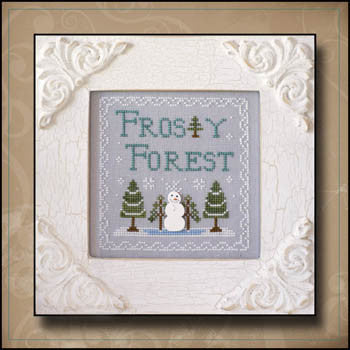 Frosty Forest 9, Frosty Forest - Country Cottage Needleworks
