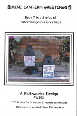 Mini Lantern Greetings, Book 7 - Faithwurks