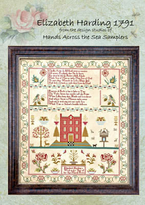 Elizabeth Harding 1791 - Hands Across the Sea Samplers