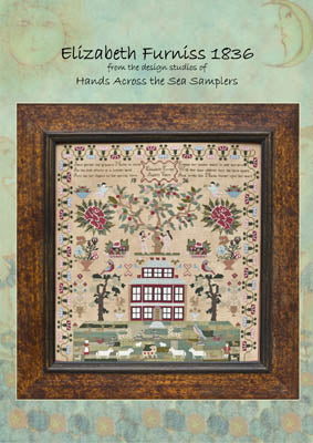Elizabeth Furniss 1836 - Hands Across the Sea Samplers