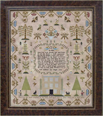 Mary Lea 1793 - Hands Across the Sea Samplers