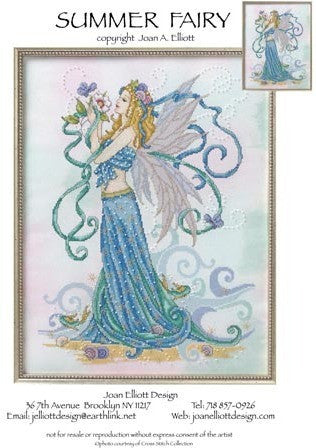 Summer Fairy - Joan Elliott Designs