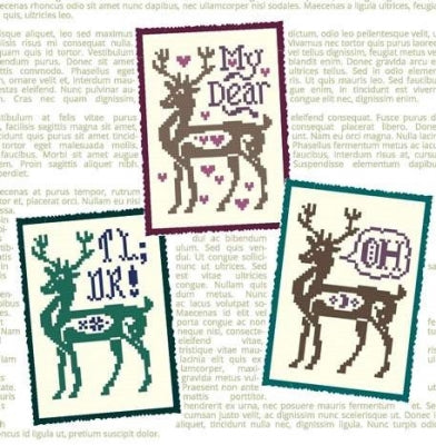 Deer Me - Ink Circles