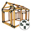 38X60 Chicken/Poultry Coop & Run Kit