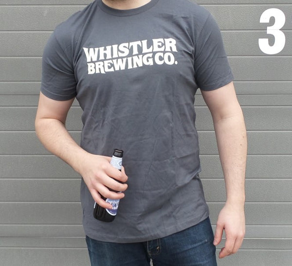 MENS WHISTLER WAVE LOGO T-SHIRT