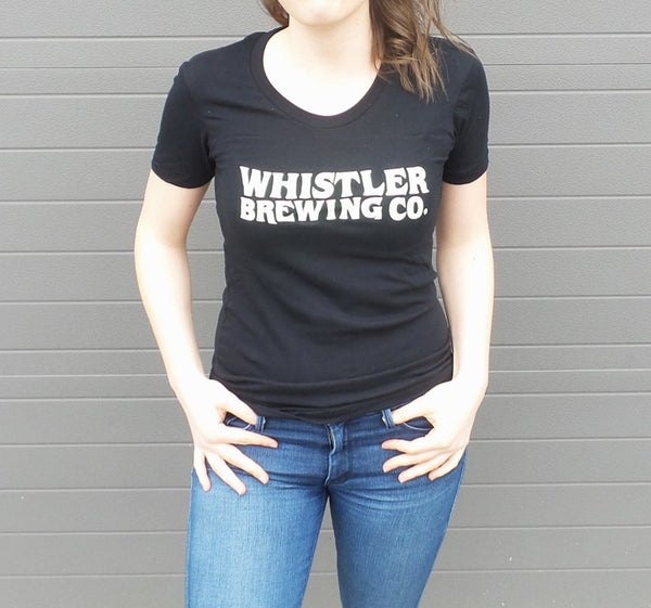 WOMENS WHISTLER WAVE LOGO T-SHIRT