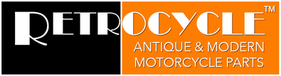 Retrocycle Logo, Antique & Modern Motorcycle Parts / Service