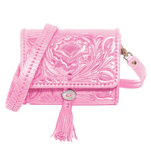 Bolso Cincelado Mini Rosa
