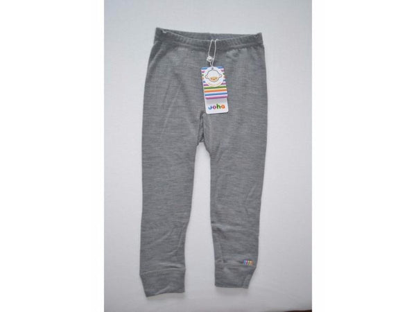 Organic Merino Wool Leggings Grey