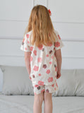Sugar Flower Girls Organic Short Pajamas