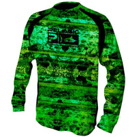 Pelagic Vaportek Coral Camo Green - Fishing's Finest
