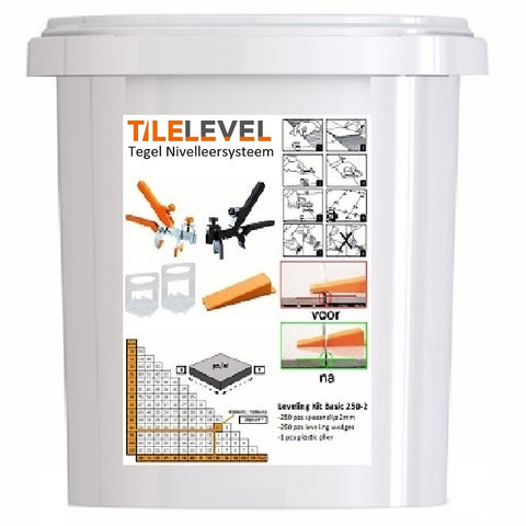 TileLevel Tegel Nivelleersysteem Basic Starter Set