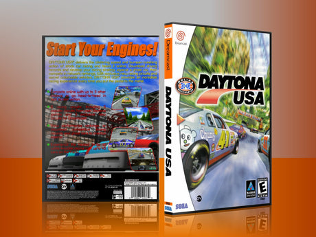 Sega Dreamcast Dc REPLACEMENT GAME CASE for Daytonausa 2