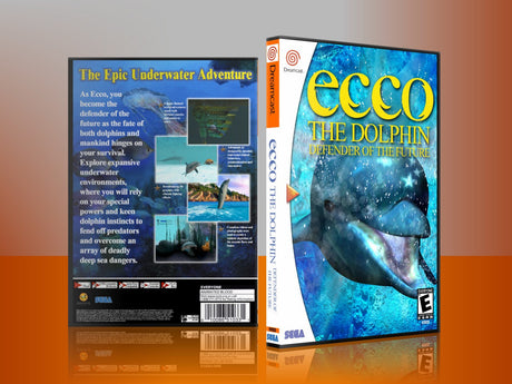 Sega Dreamcast Dc REPLACEMENT GAME CASE for Ecco 3