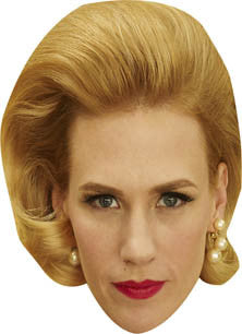 January Jones Betty Francis Madmen Face Mask Celebrity Face Mask FANCY DRESS BIRTHDAY PARTY FUN STAG DO HEN
