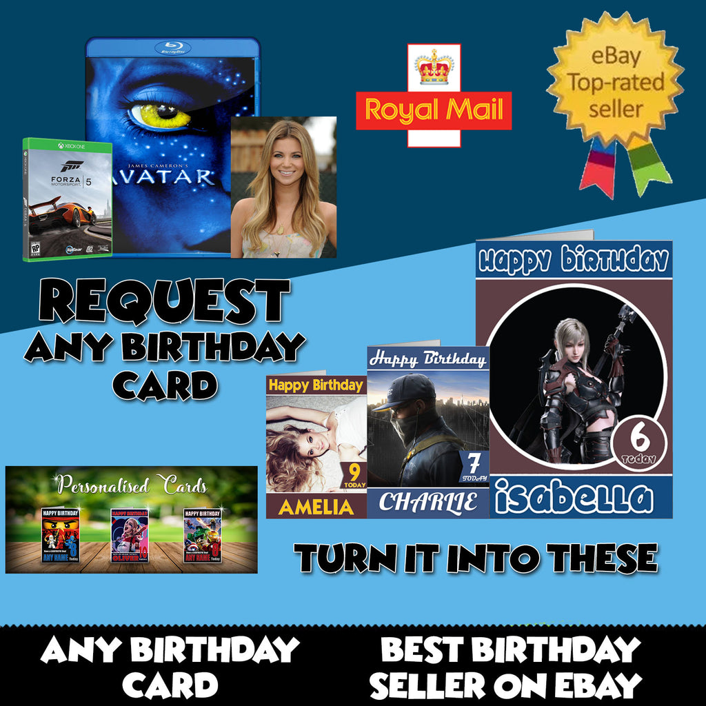 Request Any Birthday Card
