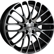 "CALIBRE ALTUS 20"" WHEEL & TYRE PACKAGE (BLACK/POLISHED)"