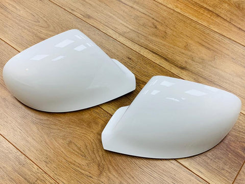 T5.1 T6 Candy White Mirror Covers / Caps Pair