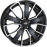 "CALIBRE KENSINGTON 20"" WHEEL & TYRE PACKAGE (MATTE BLACK/MATTE POLISHED)"