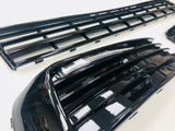 T6 Badgeless grille & light bar drl kit (Gloss Black)