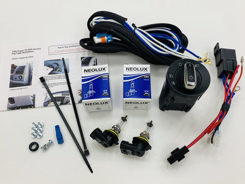 T5.1 Fog Light Harness, Loom & Switch (free bulbs)