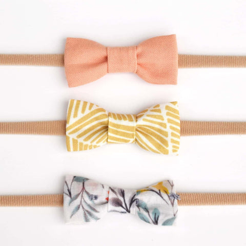 Headband Bow Set 2 (Mini)