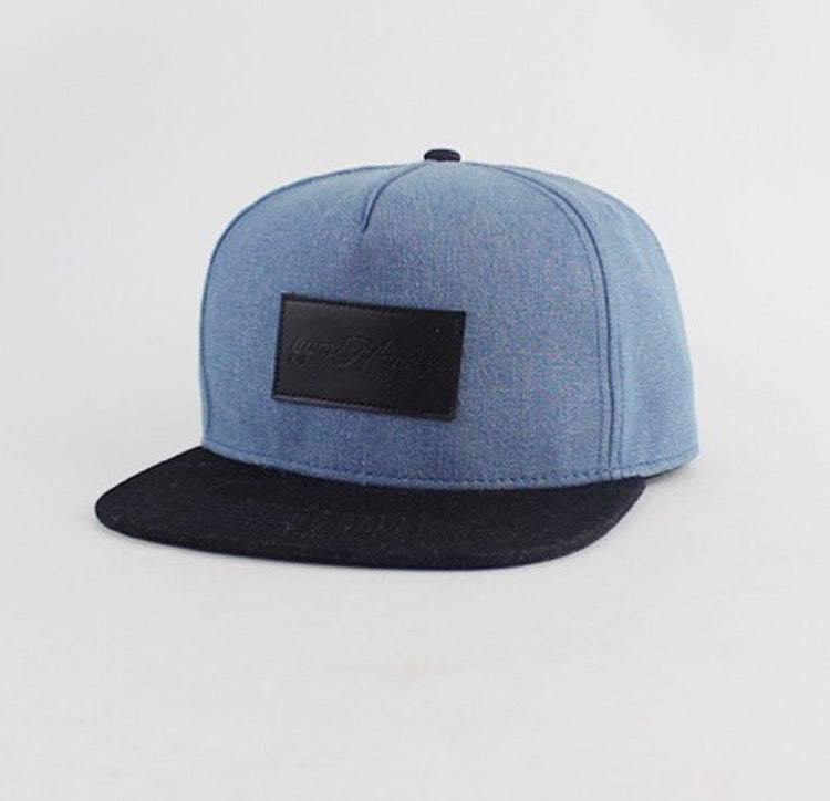 Gym Monkee - Blue Denim Snapback