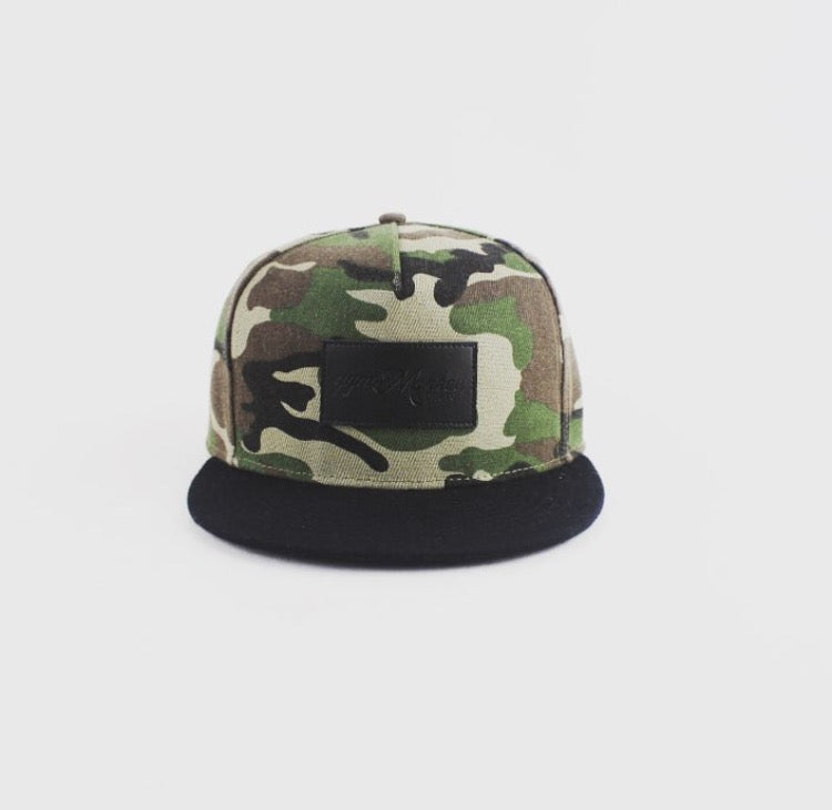 Gym Monkee - Camo Snapback