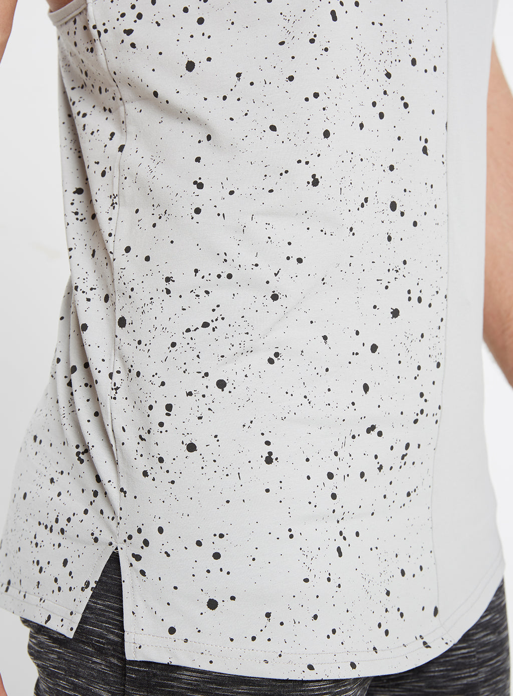 Gym Monkee - Grey Speckled Vest PATTERN