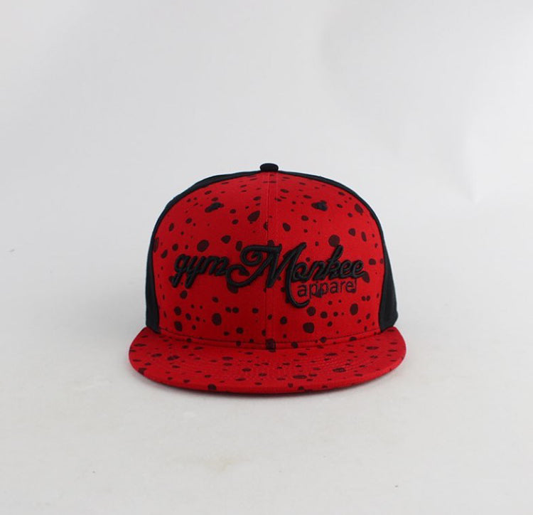 Gym Monkee - Red Speckle Snapback