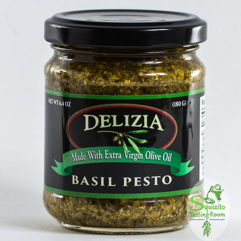 Buy Delizia Basil Pesto Online at Squizito Tasting Room