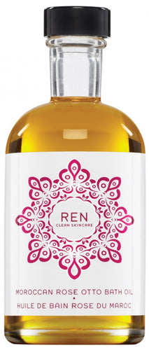 REN Moroccan Rose Otto Bath Oil 110ml The Voewood - The Voewood
