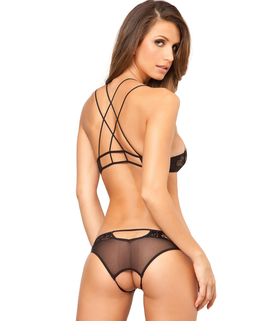 Lace Wireless Bra & Panty Set